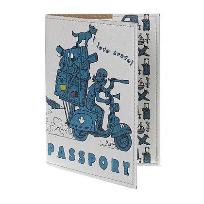 Pochette Passeport en Cuir - TinTin