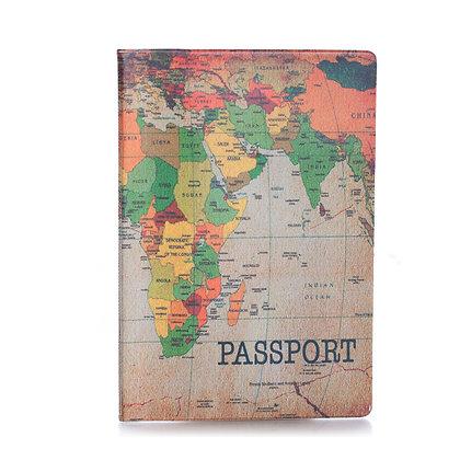 Protège passeport - Ancienne Carte du monde