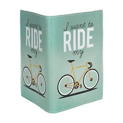 Etui Passeport Cuir - RIde my Bike