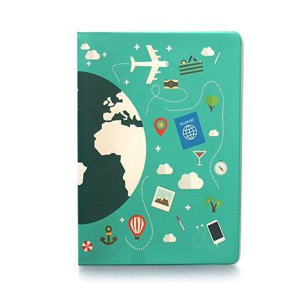 Protège passeport - Tour du monde