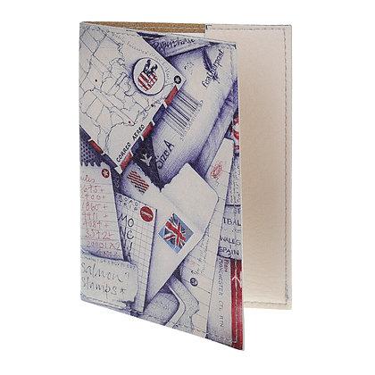 Etui Passeport Cuir - Lettres