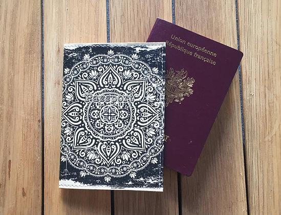 Etui Passeport Cuir - Hypnose