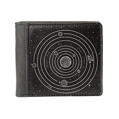 Portefeuille carré gris homme ou femme - Espace