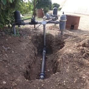 ALVA5 installed underground