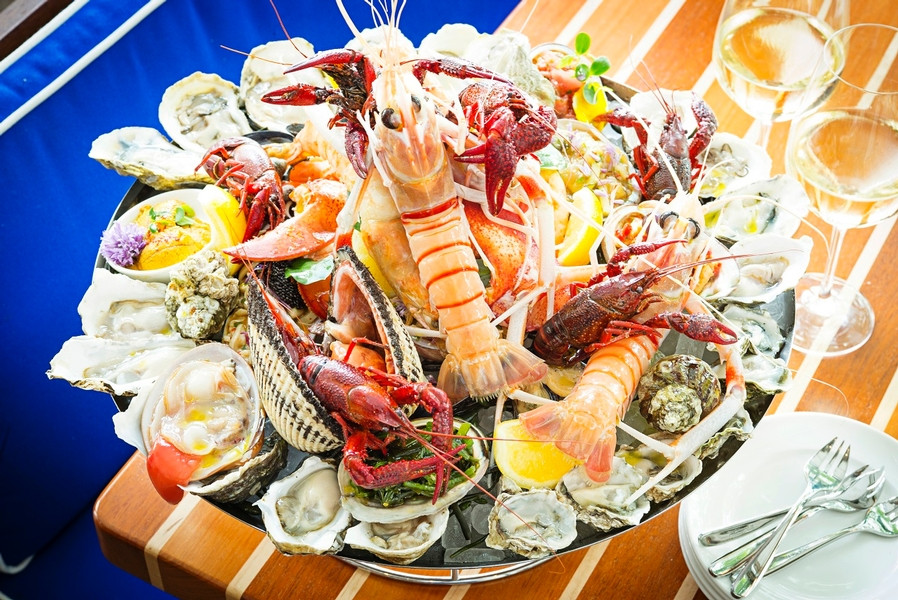 Fiola Mare seafood dishes