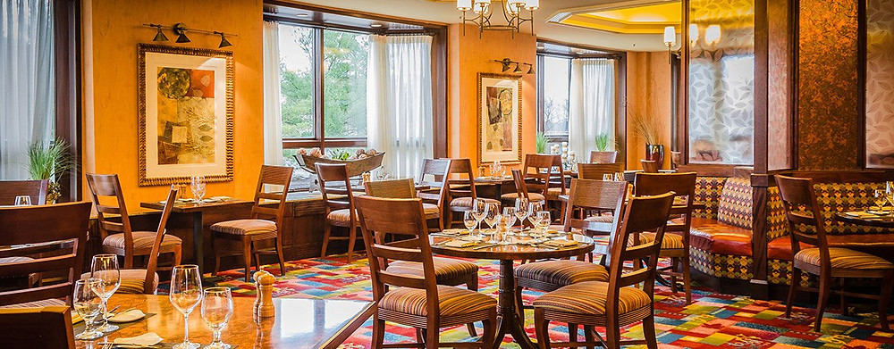 Nemacolin Woodland Resort dining room