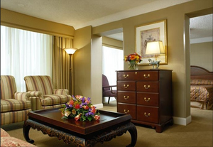 The Stamford Marriott Hotel and Spa guest suite