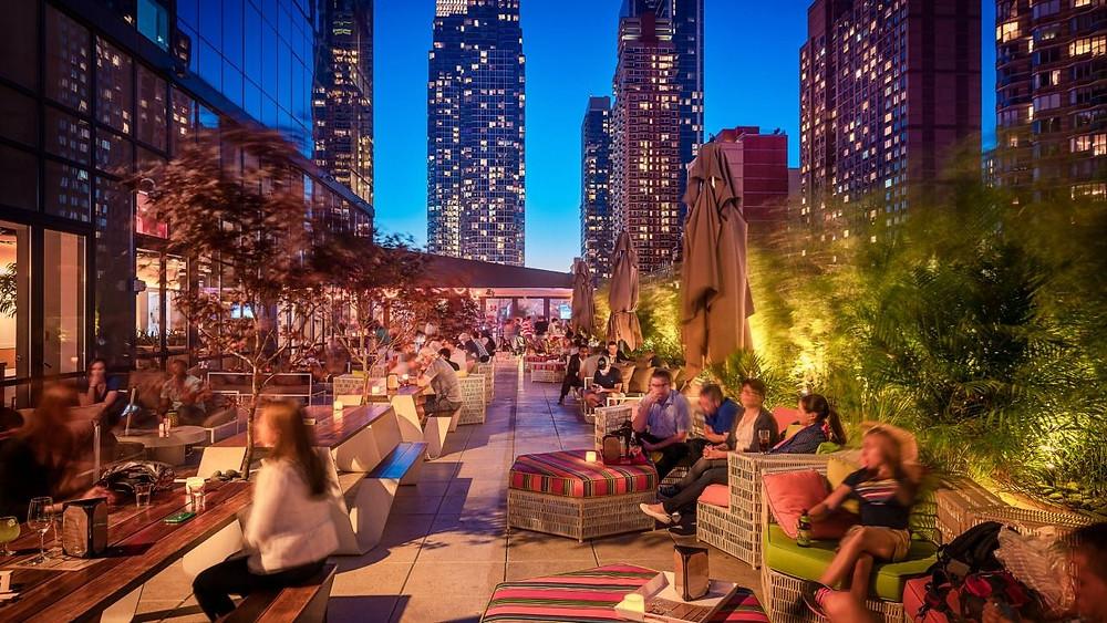 Yotel's Rooftop Terrace Bar