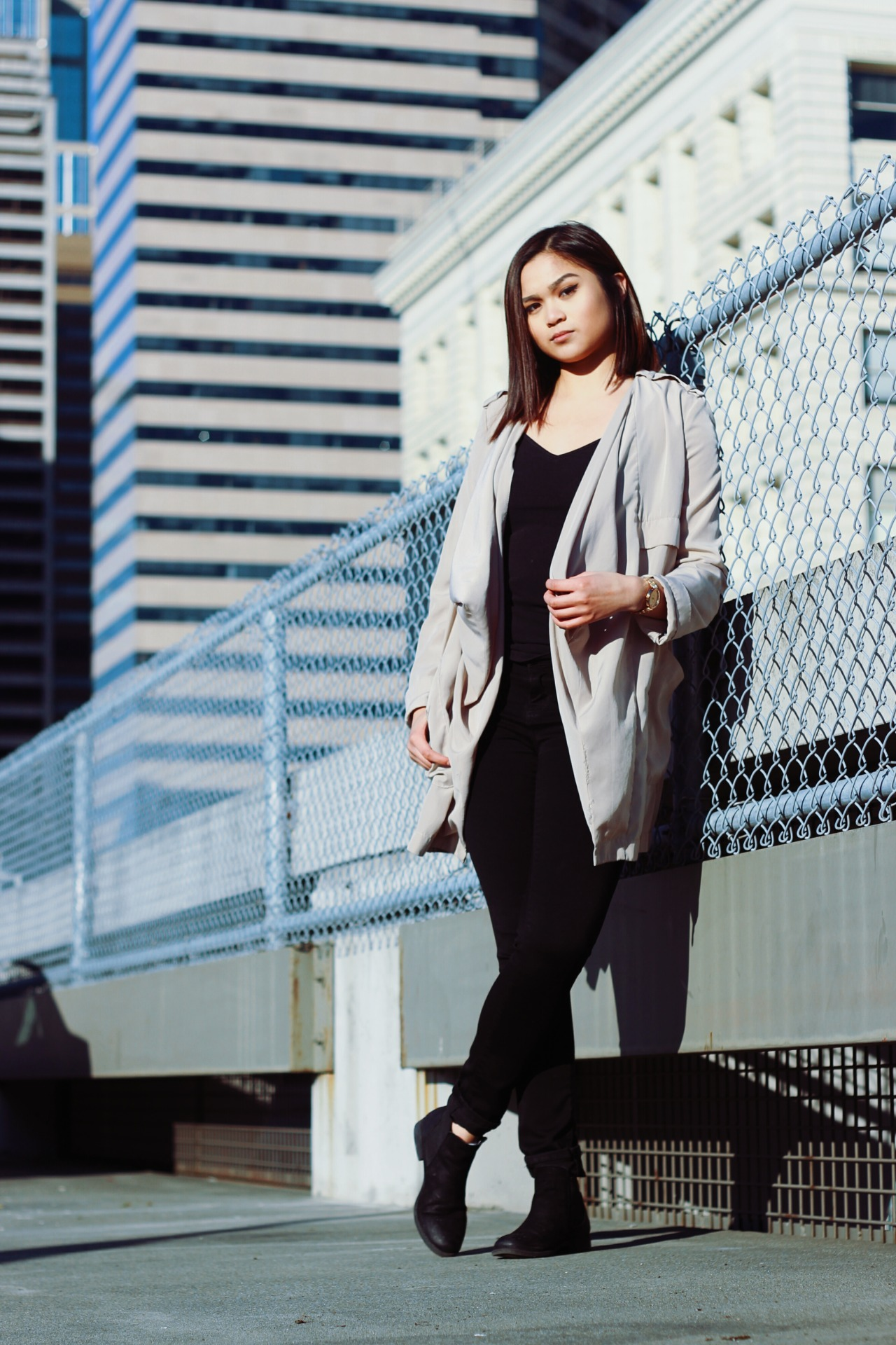 Renae Miguel, Downtown Seattle.