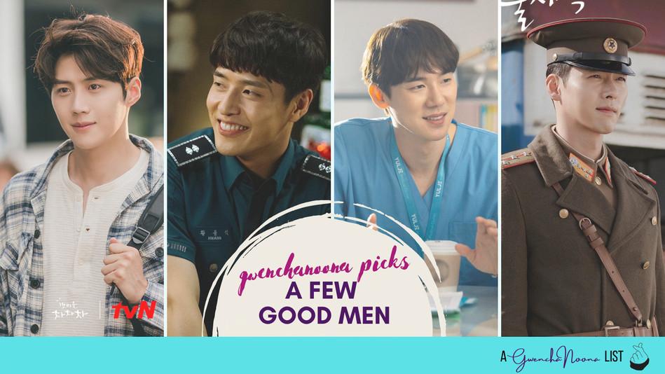 A Few Good Men: Green-flagged K-drama Romantic Leads