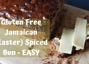 Gluten Free Jamaican Easter Bun
