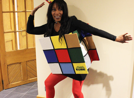How to Sew and Rubik's Cube Costume