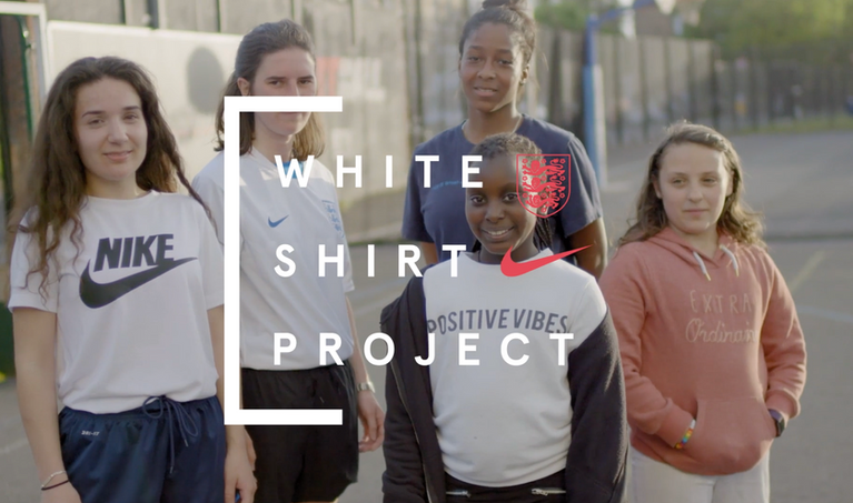 NIKE WHITE SHIRT PROJECT - CAMPAIGN CONTENT  As part of the White Shirt Project we worked with 11 chosen influencers and clubs to create a content series including stills and films that culminated in the Rise of the Fearless film at the heart of the campaign.  Capturing the talent design consultations with Tottenham Textiles, their Fearless stories and the shirts design and production process the content put the talent stories front and centre.  - Click to play film