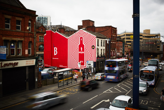 BEEFEATER MURALS  As part of the Beefeater London Gin brand relaunch and their first UK OOH campaign in 12 years, we were commissioned to create two large scale, hand-painted OOH adverts in London and Manchester.   Working with with Havas Media and Impero Design, we were responsible for the location sourcing, artwork development and production of the murals across the two sites.