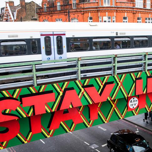 Brixton Design Trail _ Bridge Mural