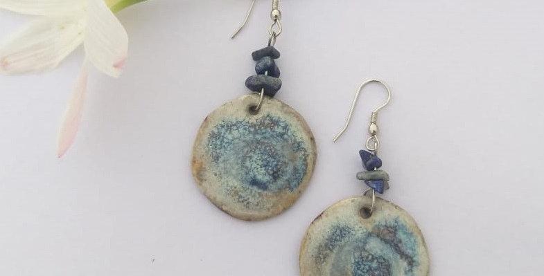 Blue Ocean Ceramic Dangler