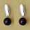 Thumbnail: Black Onyx Earring
