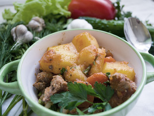 Lamb & Vegetable Casserole
