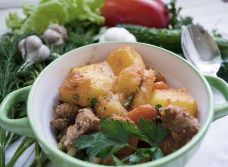 Lamb & Vegetable Casserole