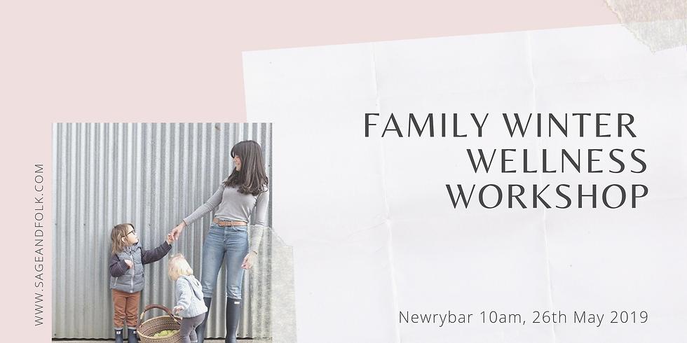 Family Winter Wellness Workshop