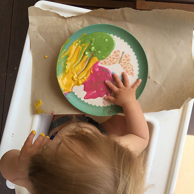Edible Finger Paints