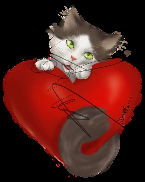 Mune Heart Stickers