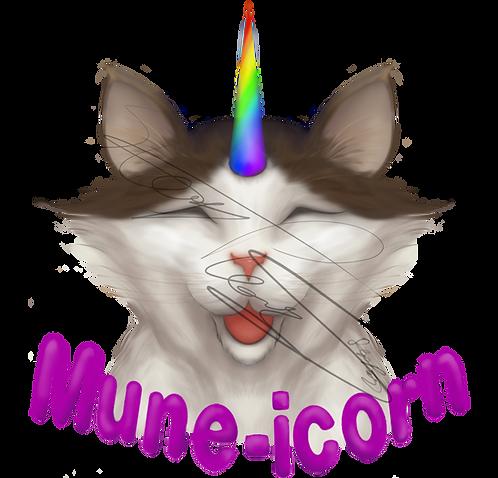 Mune-icorn Stickers