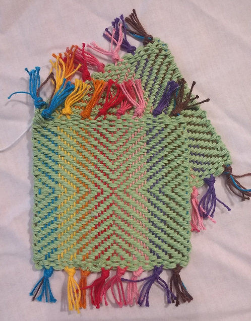 Rainbow Green Target (2 Set)