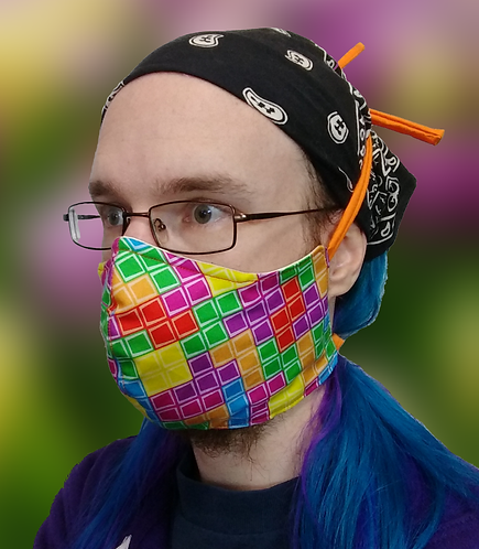 Tetris Cloth Masks
