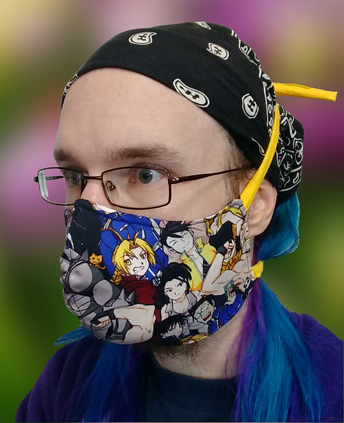 Full Metal Cloth Masks