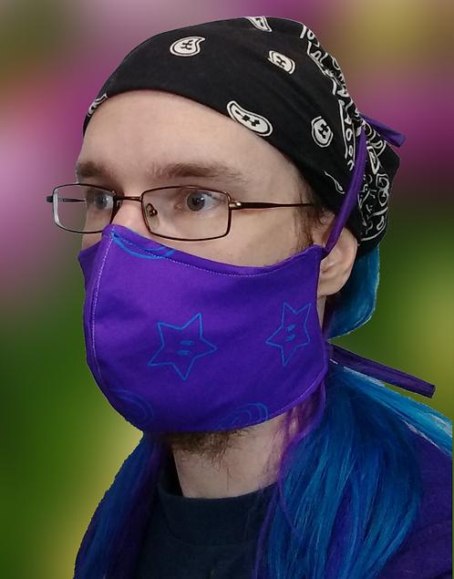 Purple Star Cloth Masks
