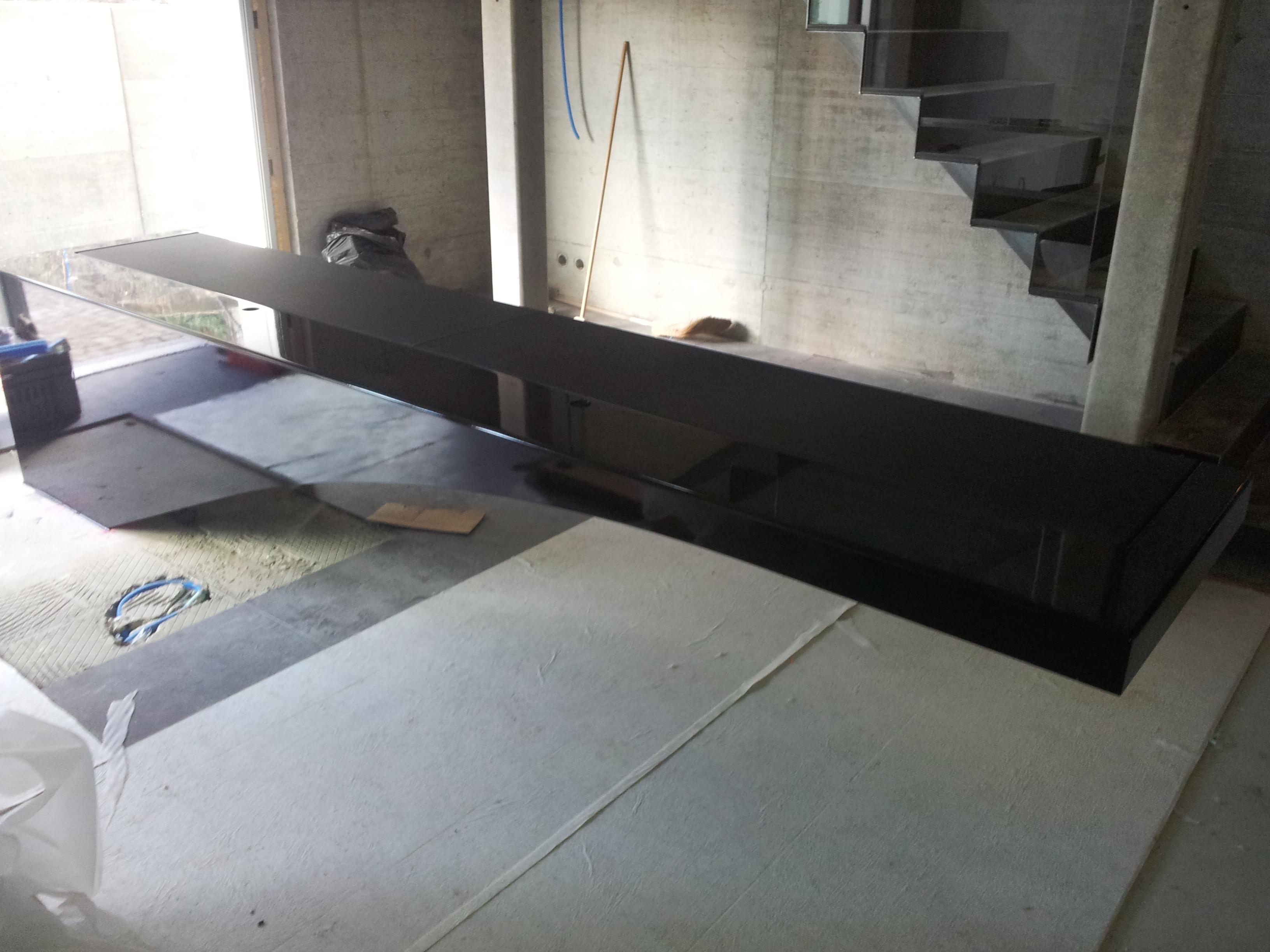 bureaux acier cuir