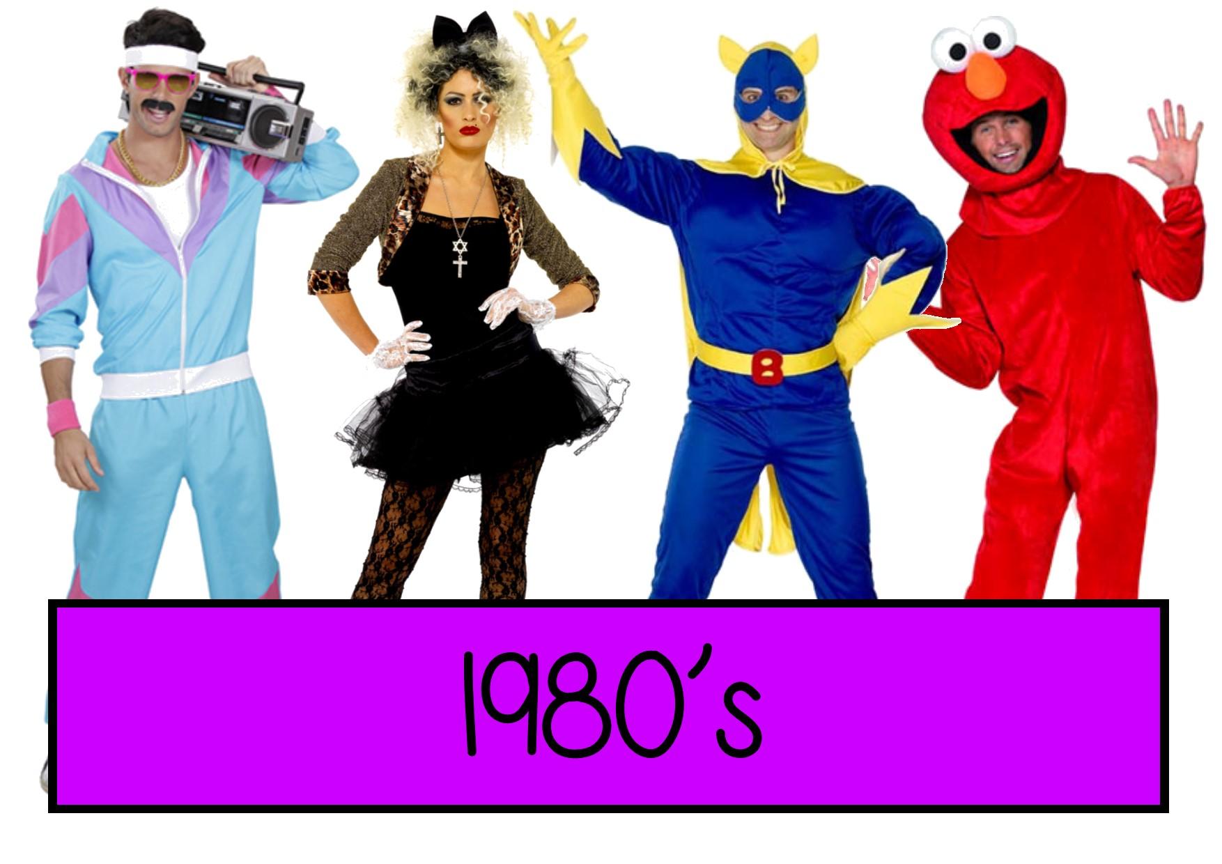 1980s fancy dress ideas