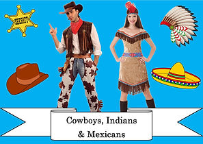funzone fancy dress and dancewear st albans hertfordshire costumes to buy cowboys indians and mexicans
