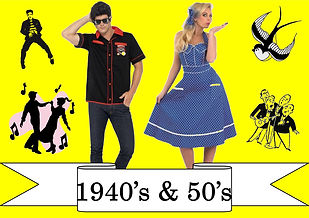 funzone fancy dress and dancewear st albans hertfordshire costumes to buy 1940s and 1950s