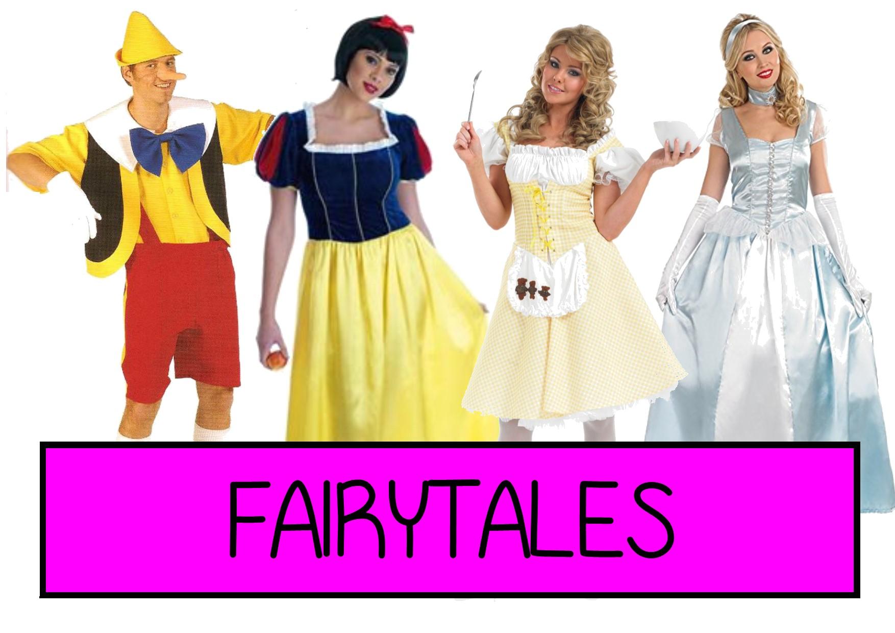 fairytales fancy dress ideas