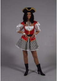Pirate Lady Red
