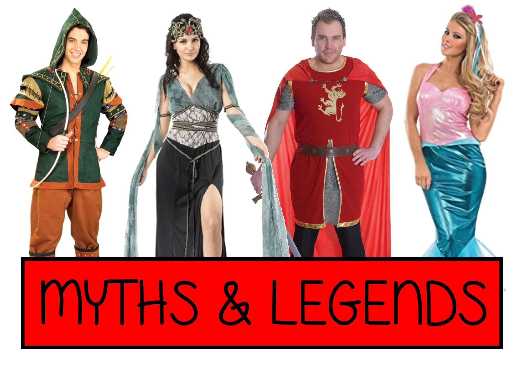myths and legends fancy dress ideas