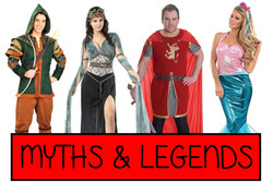 myths and legends fancy dress ideas