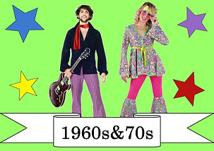 funzone fancy dress and dancewear st albans hertfordshire costumes to hire 1960s and 1970s