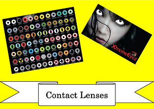 funzone fancy dress and dancewear st albans hertfordshire accessories contact lenses