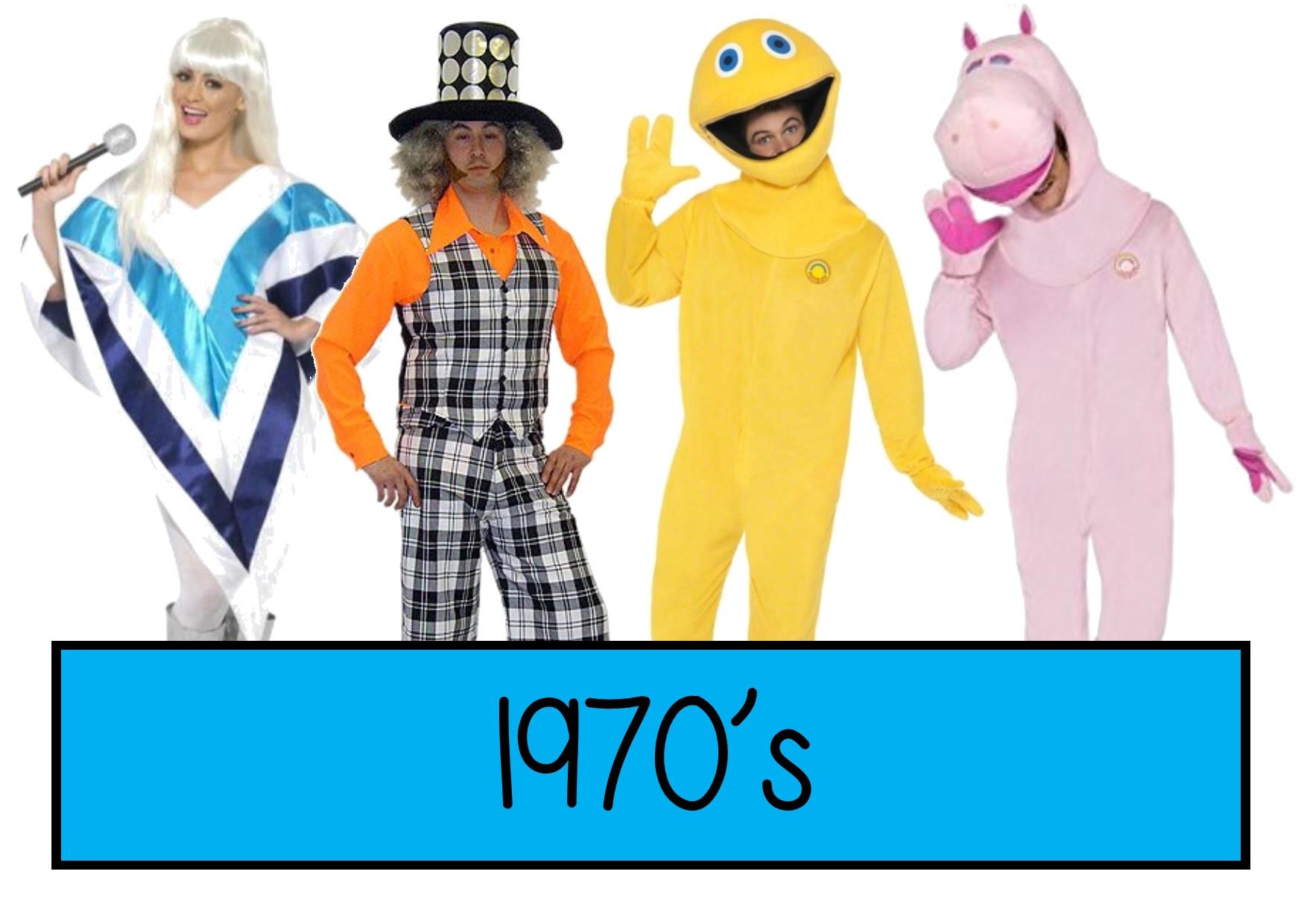 1970s fancy dress ideas