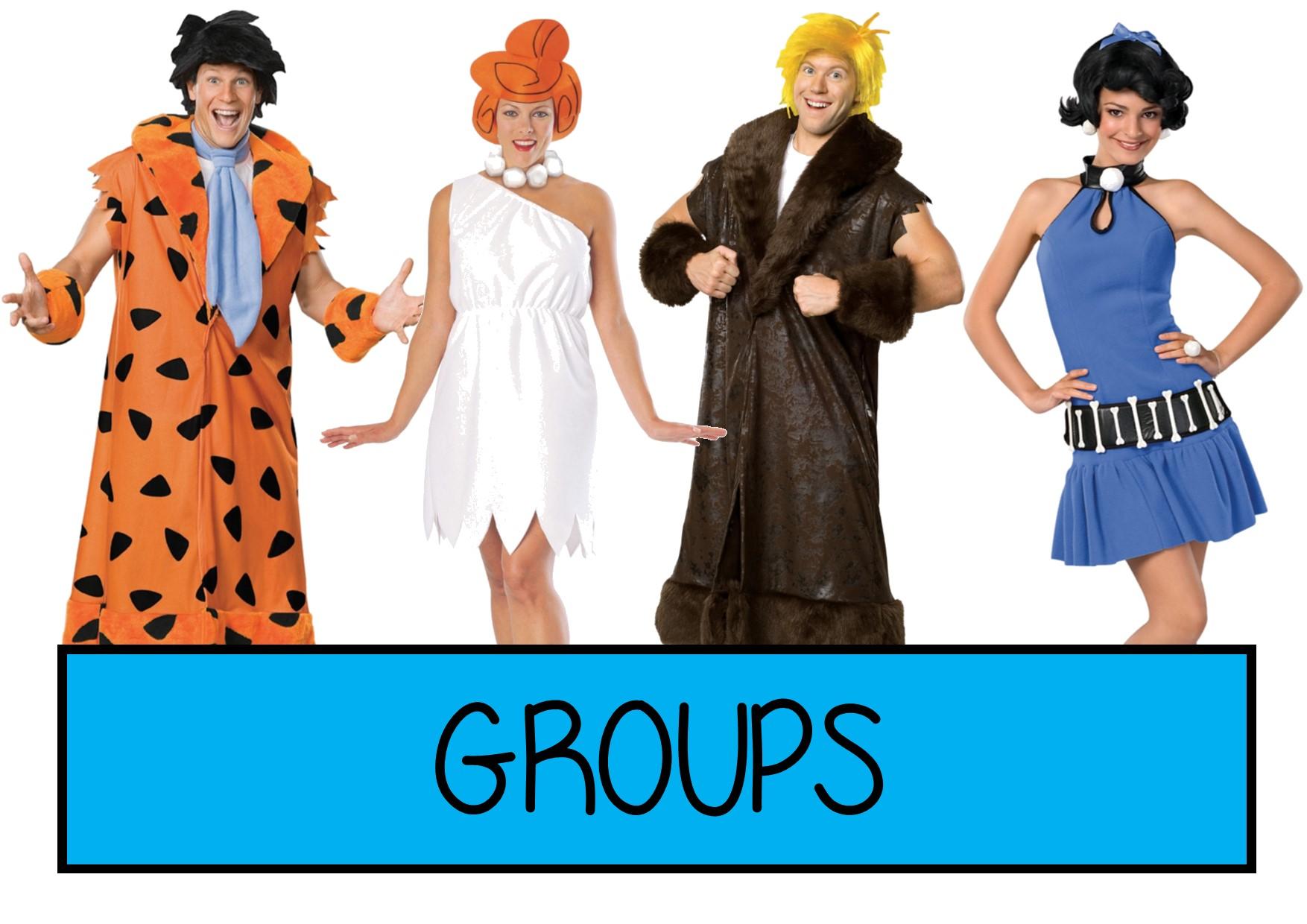 groups fancy dress ideas