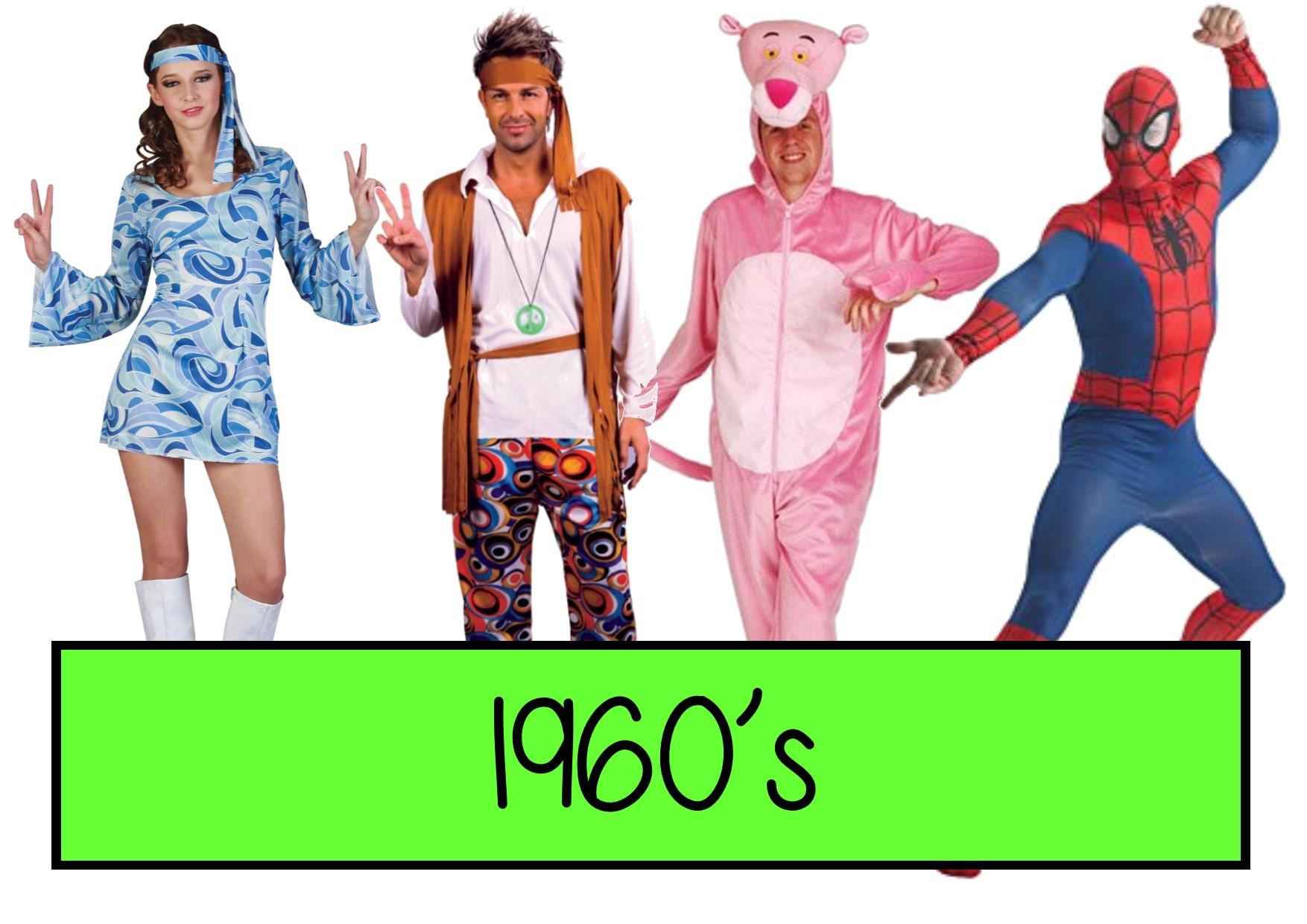1960s fancy dress ideas