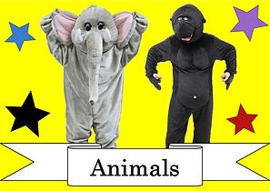 funzone fancy dress and dancewear st albans hertfordshire costumes to hire animals