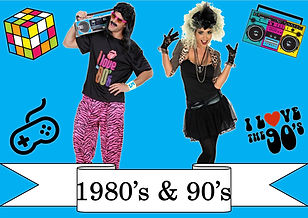 funzone fancy dress and dancewear st albans hertfordshire costumes to buy 1980s and 1990s