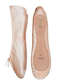 Bloch Pink Satin Ballet Shoes