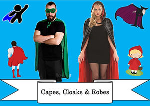 funzone fancy dress and dancewear st albans hertfordshire costumes to buy capes cloaks and robes