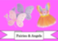 funzone fancy dress and dancewear st albans hertfordshire accessories fairy angel wngs