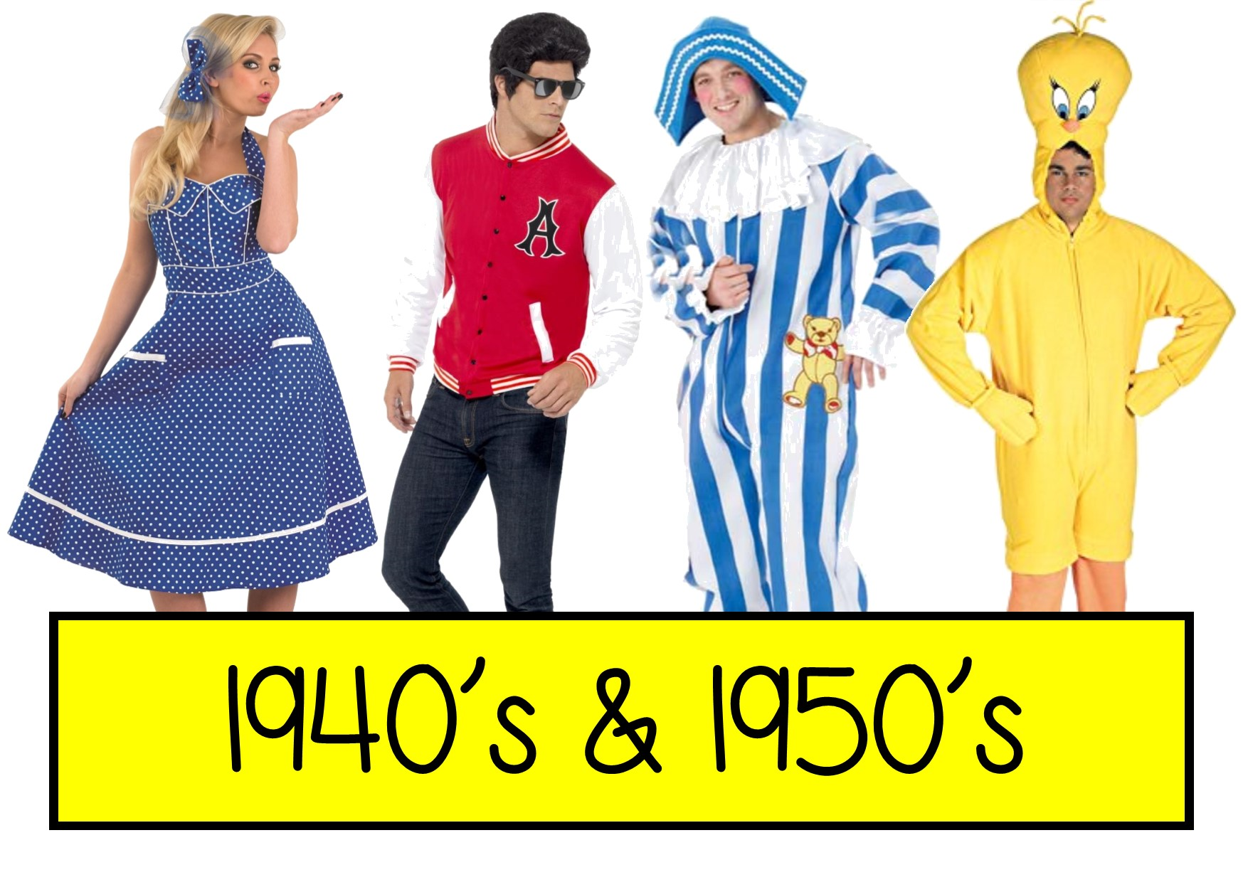 1950s fancy dress ideas